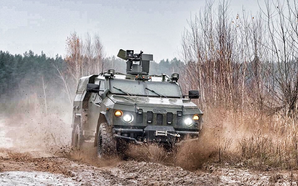 National Guard of Ukraine received an Novator armored vehicles