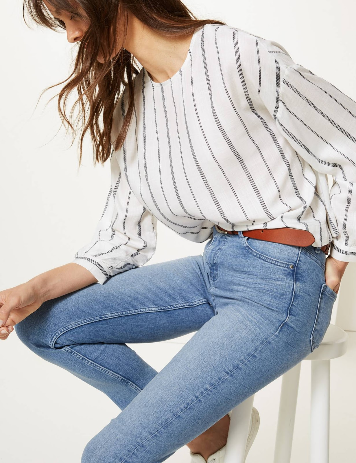 marks and spencer lily slim ankle grazer jeans