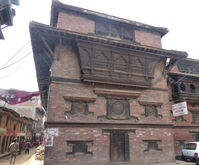 museo degli intarsi in legno a Bhaktapur