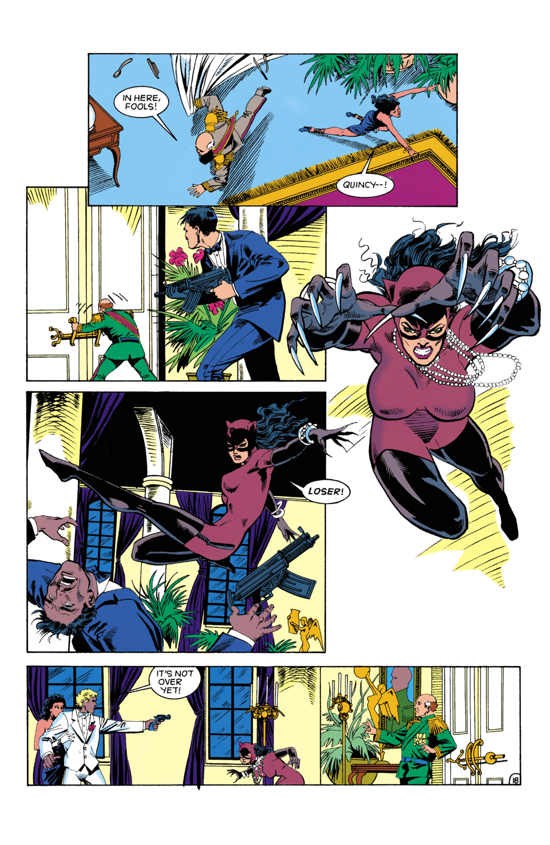 Catwoman (1993) Issue #4 #9 - English 19