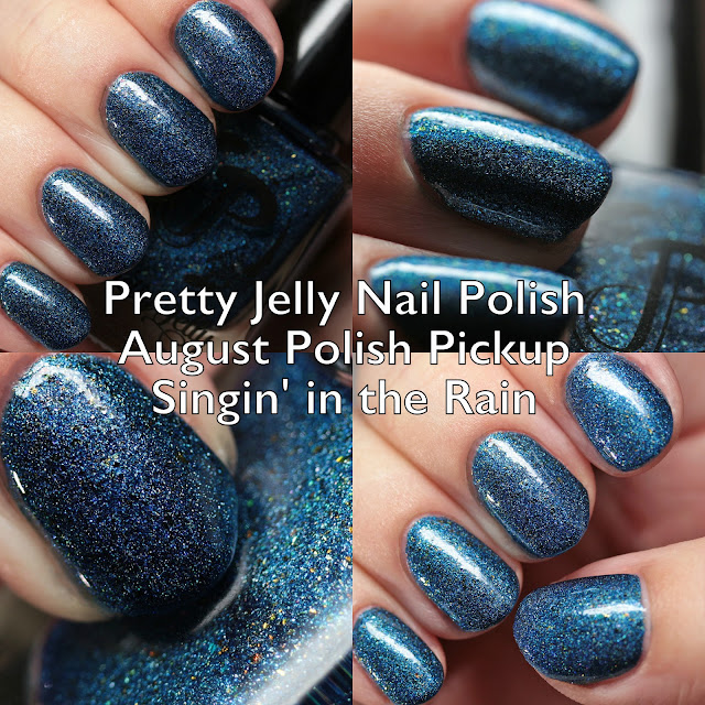 Pretty Jelly Nail Polish Singin' in the Rain