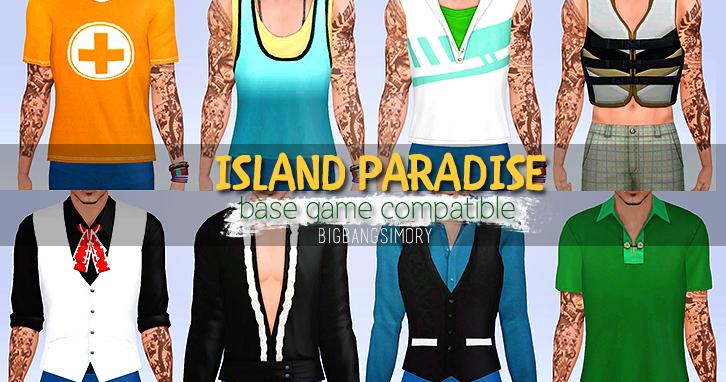 My Sims 3 Blog: Island Paradise Clothing