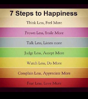 7 steps to happiness - quotes on happiness