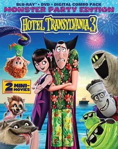 Hotel Transylvania 3 - Summer Vacation (2018) 1080p BDRip Dual Latino-Inglés [HEVC-10bit](Animada, Aventura)