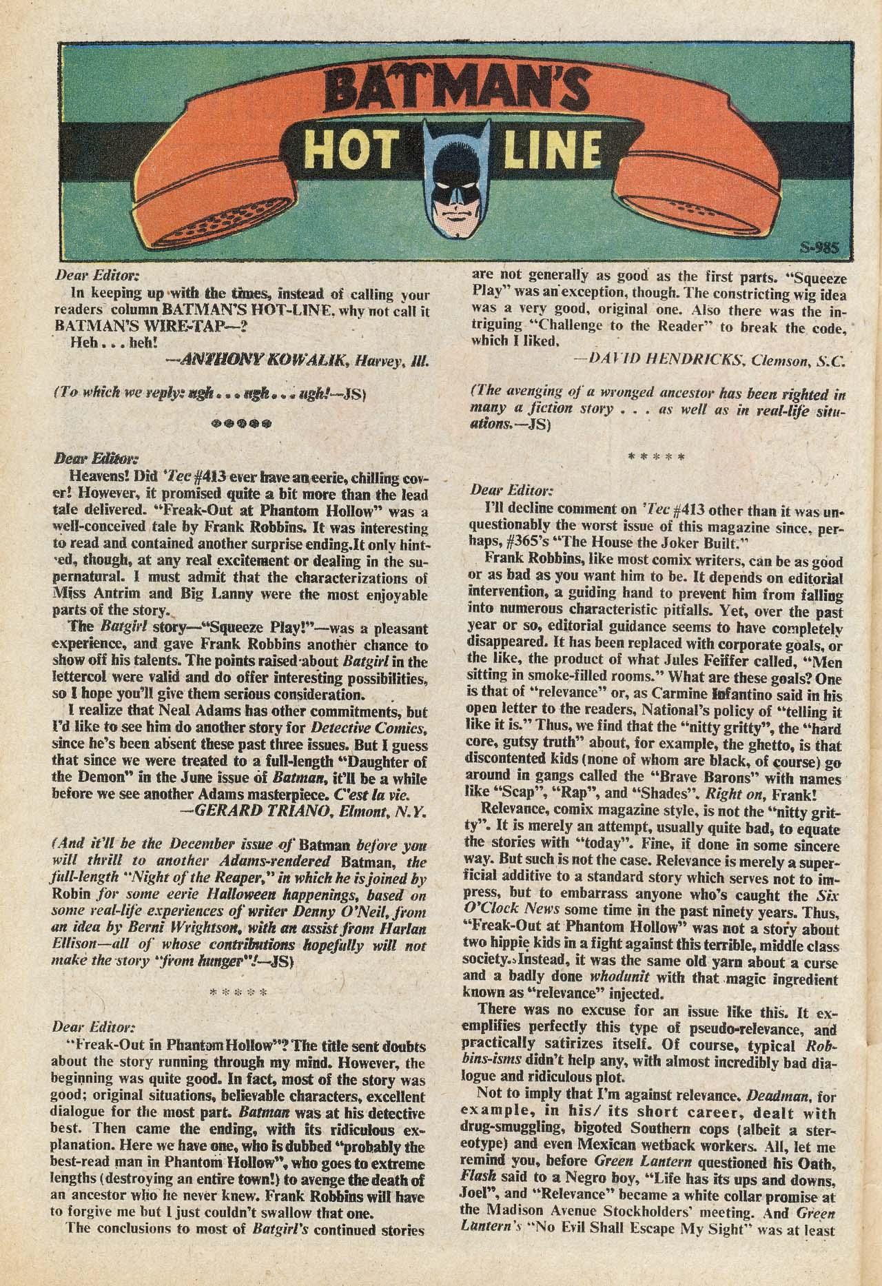 Detective Comics (1937) 417 Page 36
