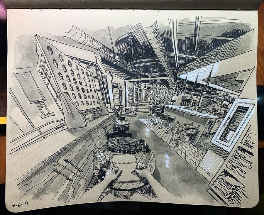 08-Paul-Heaston-Moleskine-Urban-Drawings-with-a-Point-of-View-www-designstack-co