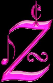 Alfabeto Rosado con Batería.