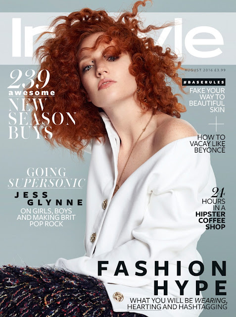 Singer, @ Jess Glynne - InStyle UK, August 2016