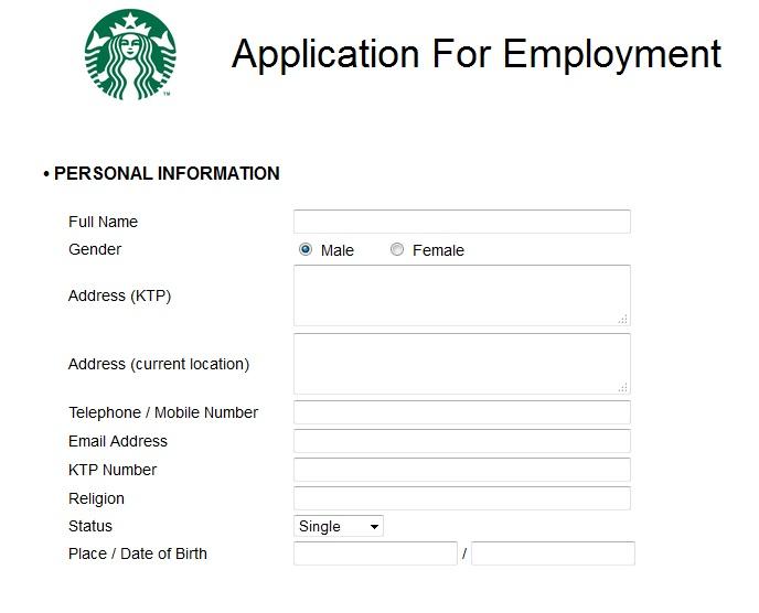Cara Melamar Kerja Di Starbucks Indonesia Dibacaonline