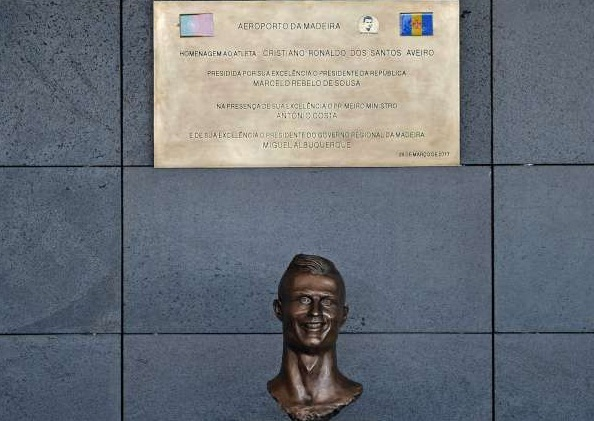 c ronaldo sculptor