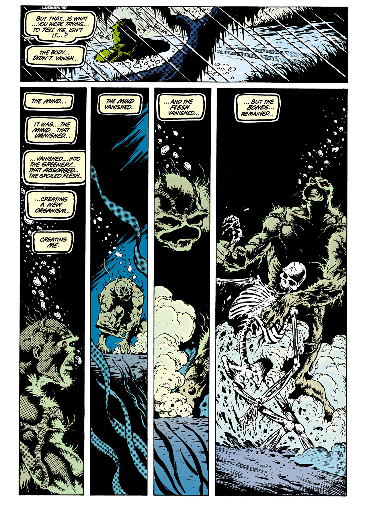 Swamp Thing (1982) Issue #28 #36 - English 21