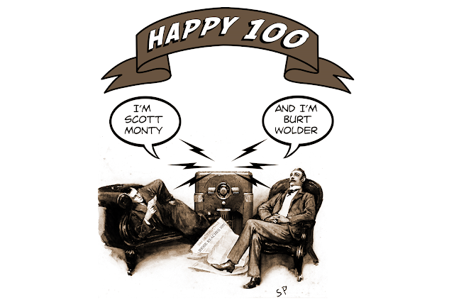 Gerry Turnbull created this nifty image for our 100th