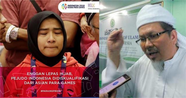 Ustadz Tengku: Larang Atlit Jilbab, Mending Dibubarkan