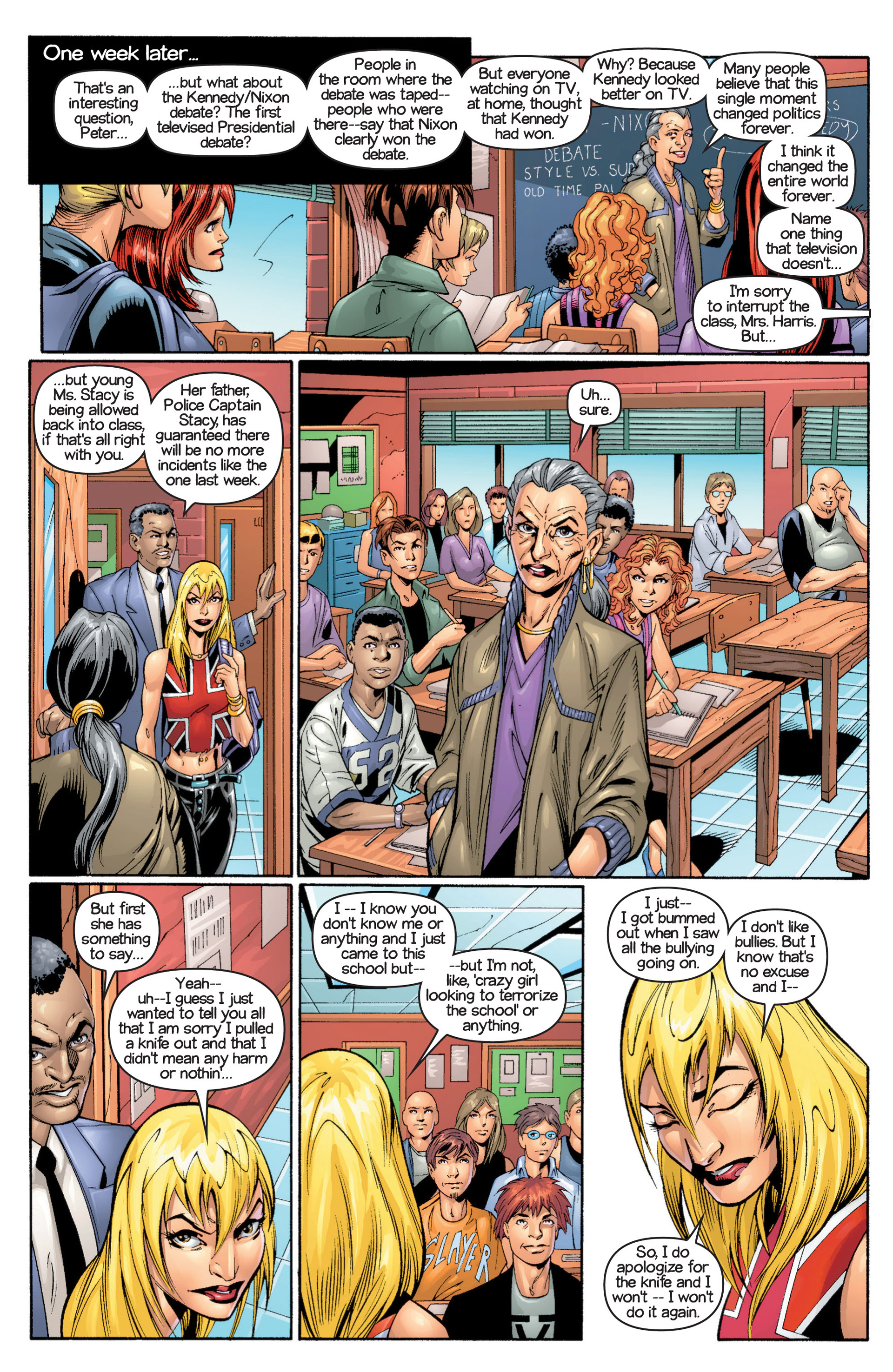 Read online Ultimate Spider-Man (2000) comic -  Issue #17 - 6