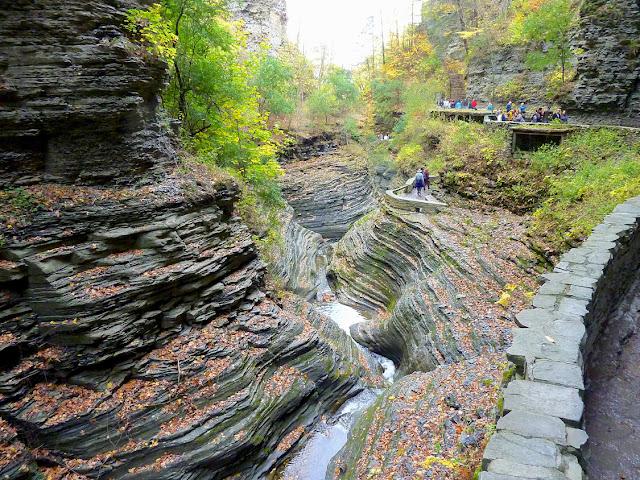 Gorge Trail en Watkins Glen State Park