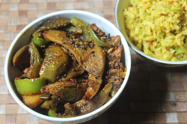Panch Phoron Baingan Recipe - Panch Phoron Brinjal Recipe