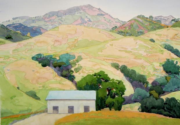 Robin Purcell California Watercolors In Plein Air