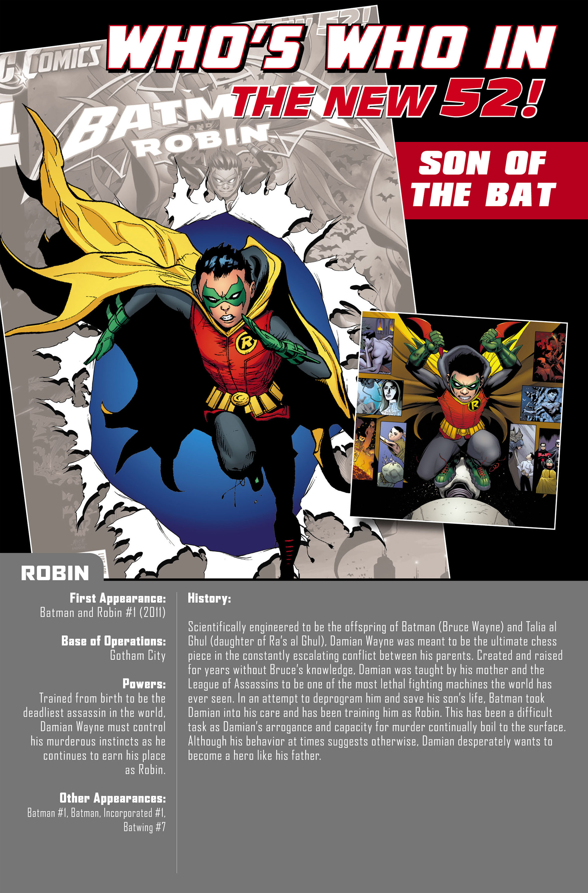 Read online Batman and Robin (2011) comic -  Issue #0 - 19