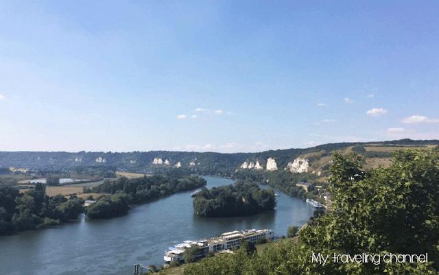 vue du château Gaillard Les Andelys