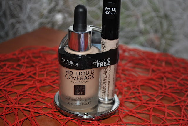Podklad Catrice HD LiQUID COVERAGE foundation