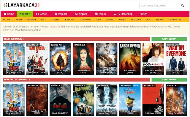 Download film gratis dan mudah di layarkaca21