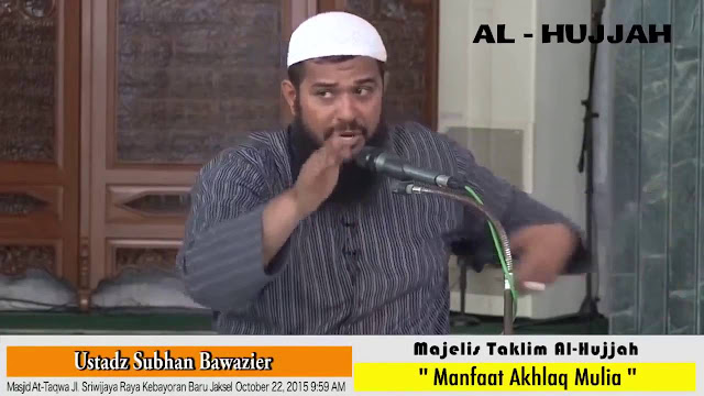 [Video] Ustad Wahabi Subhan Bawazier Lecehkan Kitab Ihya Ulumuddin Karya Imam Ghazali