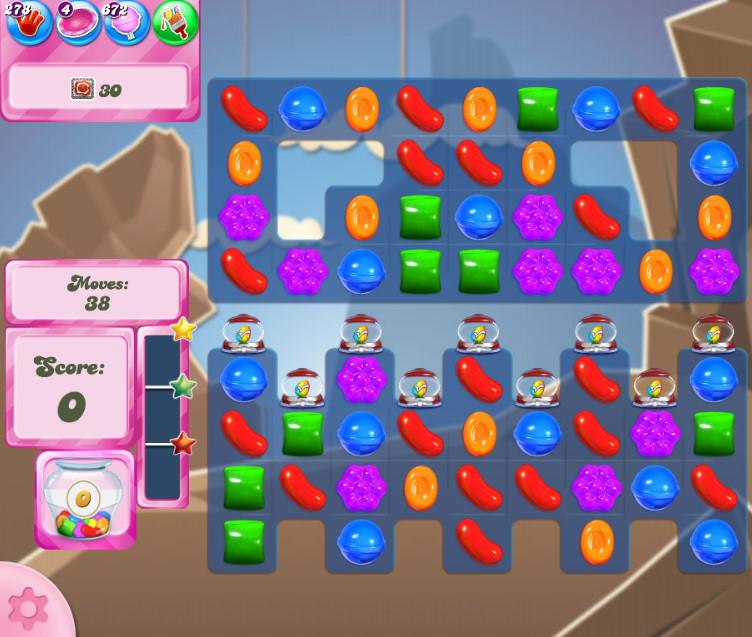 Candy Crush Saga level 2718