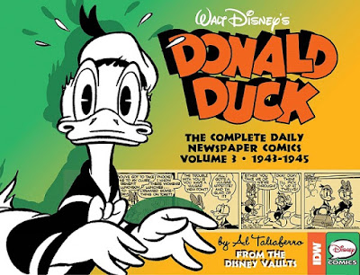 Pre-release cover for Donald Duck - The Complete Daily Newspaper Comics vol.3