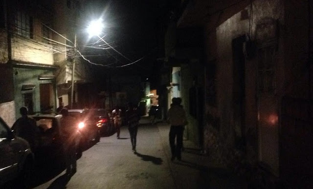 Lanzaron bombas lacrimógenas cerca del comando de la GN de Cotiza