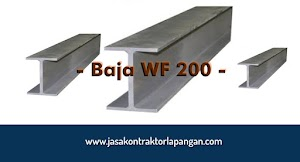 √ Konstruksi Baja WF 200 / Harga Baja WF 200