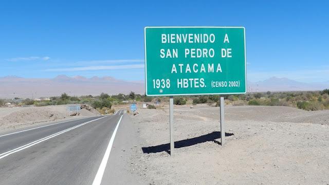 Idioma em San Pedro do Atacama