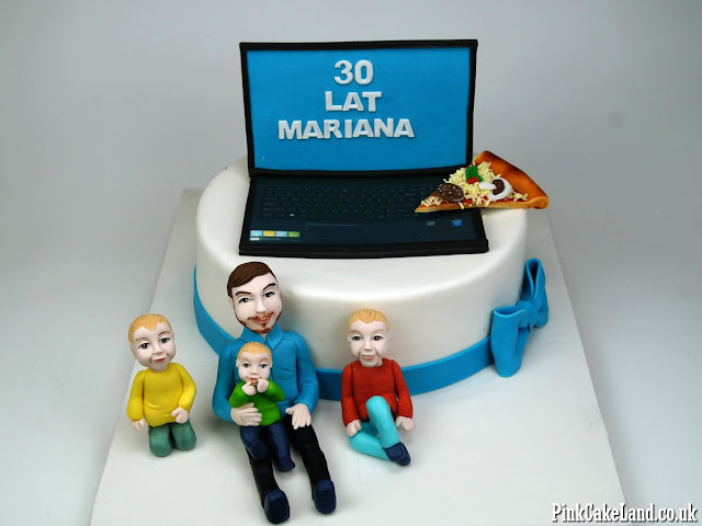 30th Birthday Cake for Him in London