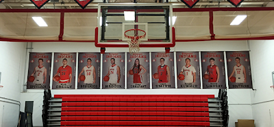 Basketball Player Banners - Printed by Banners.com