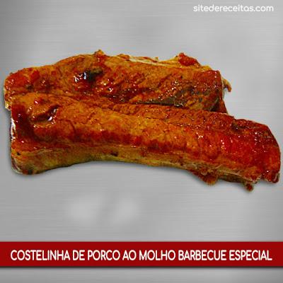 Costelinha de porco ao molho barbecue especial