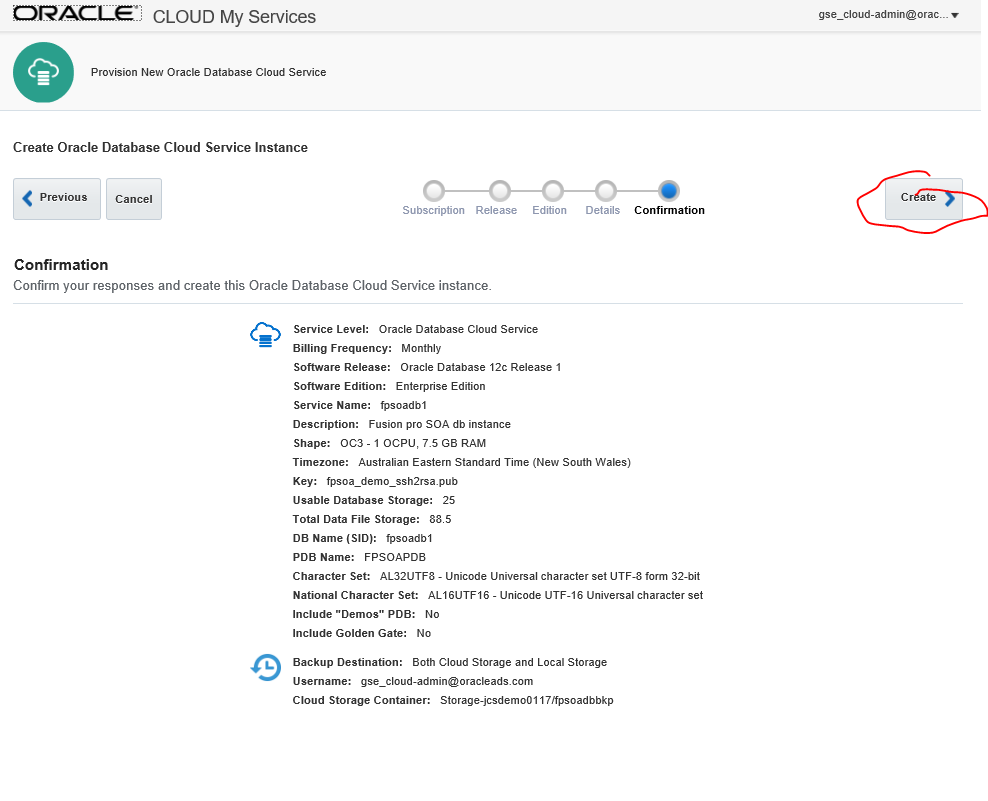 Fusion Professionals Blog: Oracle Database Cloud Service