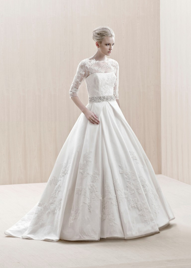 Dress Of The Week Winter Wedding Dresses Belle The