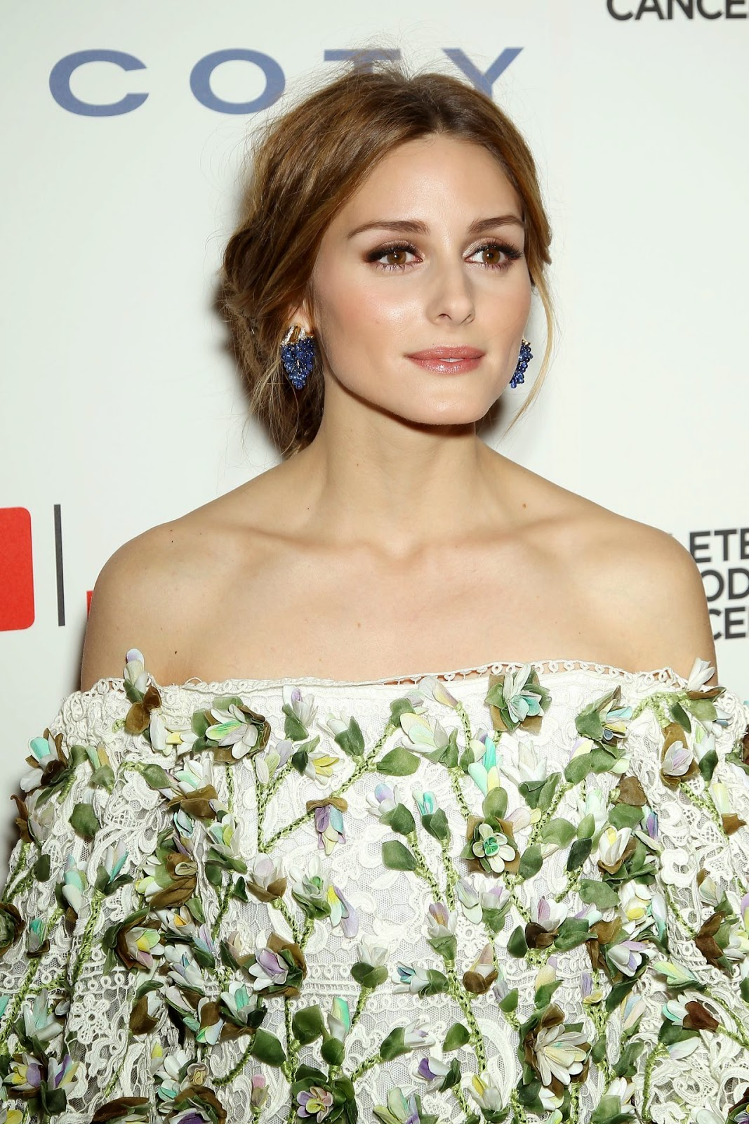 Olivia Palermo At The Ninth Annual Delete Blood Cancer Gala In New York Wearing Marchesa.