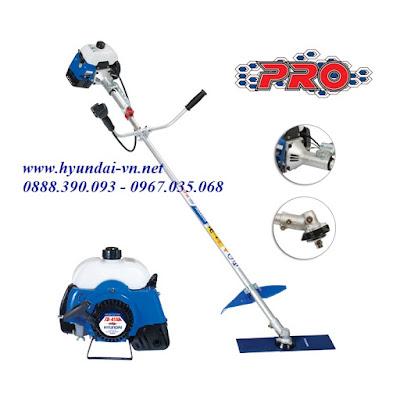máy cắt cỏ cầm tay Hyundai, máy cắt cỏ chạy xăng hyundai