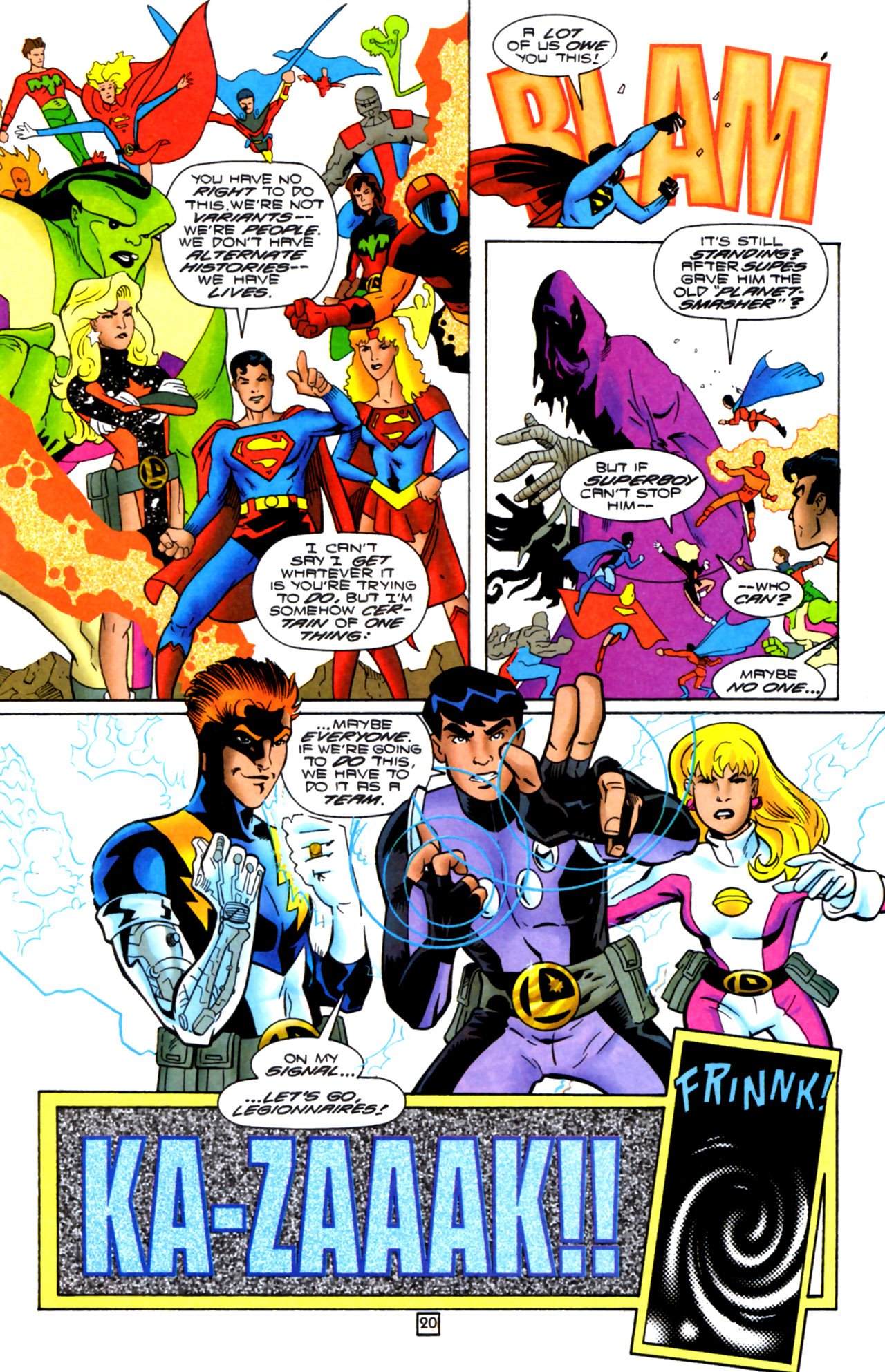 Legion of Super-Heroes (1989) 105 Page 18