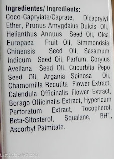 ingredientes aceite pure oil essential primer