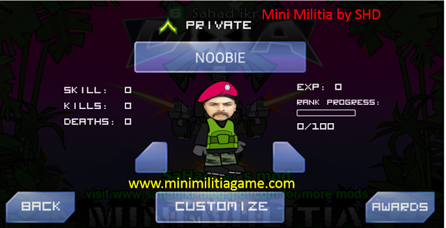 mini militia by shd