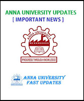 Anna University 1st Year Internal Assessment Schedule for August - December 2016 Examinations