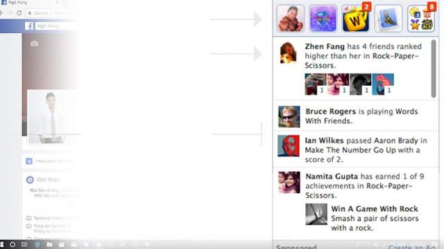 Loại bỏ khung thông tin Game khỏi Facebook