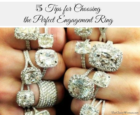 The Classy Woman ®: 5 Tips For Choosing The Perfect