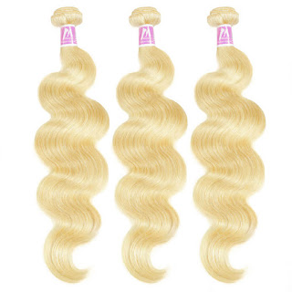 8A Premium Hair Weave Brazilian Hair Bundles Body Wave Blonde 613–Price:$44.69 /piece (10%off)