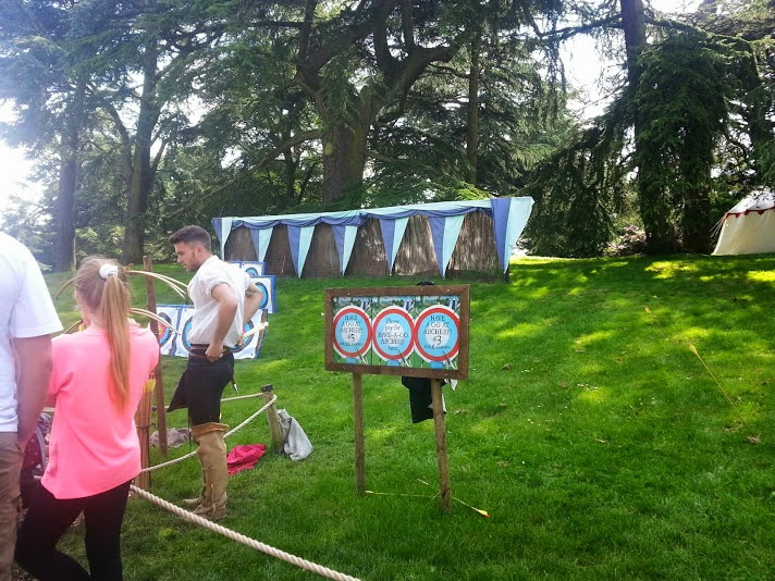 Warwick Castle Review - Archery