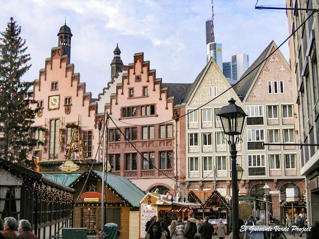 Frankfurt, Mercados de Navidad por El Guisante Verde Project