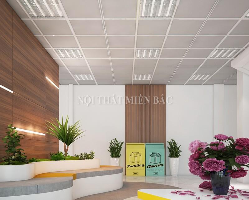 Ý nghĩa của một thiết kế nội thất văn phòng hiện đại không gian xanh