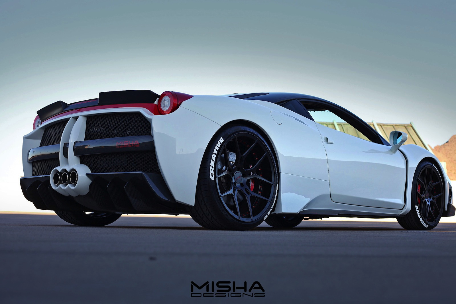 Misha Designs Show Off 458 Italia And Lambo Huracan Wide