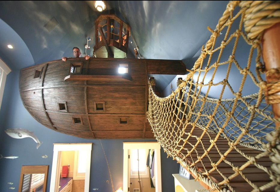 If it 39 s hip it 39 s here archives pirate ship room for Room design builder